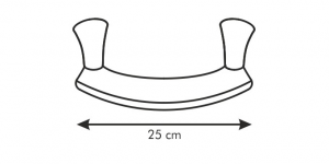 Tescoma Mezzaluna 25 cm Sonic