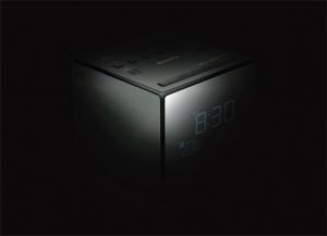 Sony XDRC1DBP radio Orologio Nero, Argento