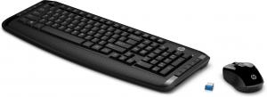 HP 300 tastiera RF Wireless Nero