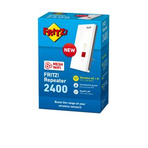 AVM FRITZ!Repeater 2400 Ripetitore di rete 2333 Mbit/s Bianco