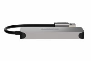 Sitecom CN-399 hub di interfaccia USB 3.2 Gen 1 (3.1 Gen 1) Type-A 5000 Mbit/s Grigio