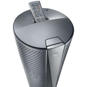 De Longhi HFX85W20C Purificatore d'aria 3 in 1 per stanze fino a 60 m³ colore grigio