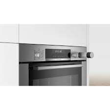 Bosch Serie 6 HRA318BS1 forno a vapore Media Acciaio inossidabile Pulsanti, Manopola