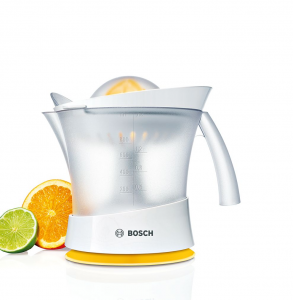 Bosch MCP3000N spremiagrumi Spremiagrumi manuale 25 W Bianco, Giallo
