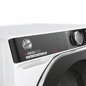 Hoover H-WASH 500 lavatrice Libera installazione Caricamento frontale 9 kg 1600 Giri/min A Bianco