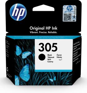 HP 305 Black Original Ink Cartridge Originale Nero 1 pezzo(i)