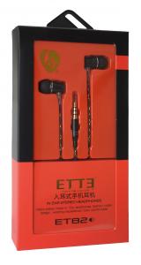 Karma Italiana ET 82 cuffia e auricolare Connettore 3.5 mm Nero