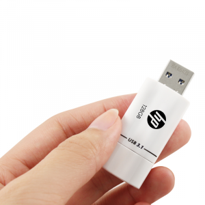 PNY HPFD765W-128 unità flash USB 128 GB USB tipo A 3.2 Gen 1 (3.1 Gen 1) Nero, Bianco
