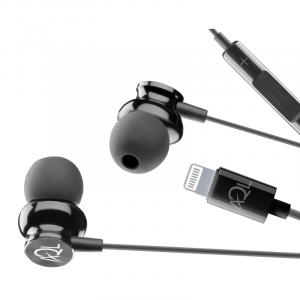 AQL Whirl Auricolare in-ear con connettore Lightning Nero