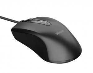 Trust Carve mouse Ambidestro USB tipo A Ottico 1200 DPI