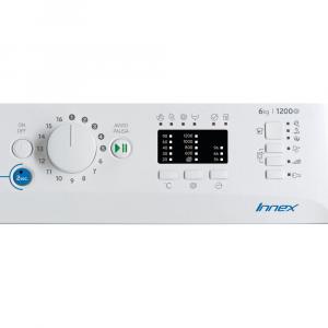Indesit BWSA 61251 W IT N lavatrice Libera installazione Caricamento frontale 6 kg 1200 Giri/min F Bianco