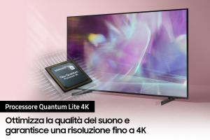 """Samsung Series 6 TV QLED 4K 55"""" QE55Q60A Smart TV Wi-Fi Black 2021"""