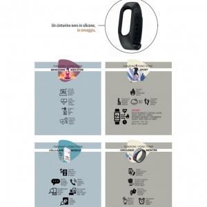 Orologio Smartwatch Smarty Five Sport SW012E9