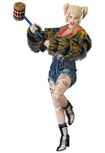 *PREORDER* Birds of Prey MAF EX: HARLEY QUINN CAUTION TAPE JACKET ver. by Medicom Toy