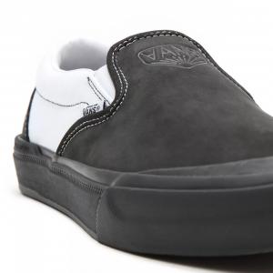 Vans Dak Bmx Slip-On Shoes | Colore Black & White