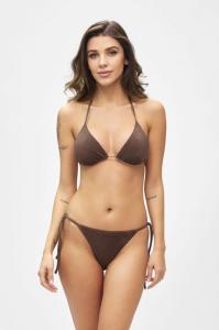 Bikini triangolo e slip laccetto regolabile Visionary dose Effek Taglia L e LG