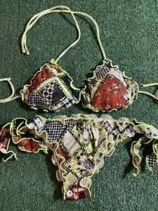 Bikini Triangolo e slip nodi brasiliano regolabile Frou Frou Desert