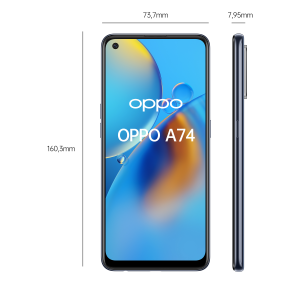 OPPO A74 Smartphone, 175g, Display 6.43