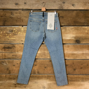 Jeans Amish Uomo David Comfort Dirty Vintage