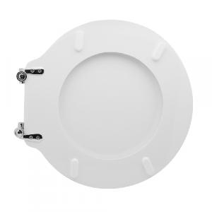 SEDILE WC PER DURAVIT VASO STARCK1                                     Bianco - Cerniere C espansione