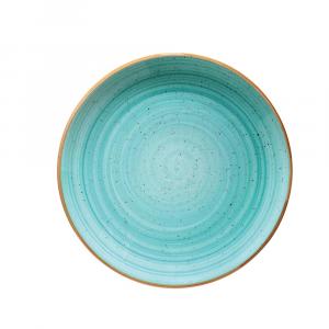 Bonna' Gourmet Flat plate Aqua (12pcs)