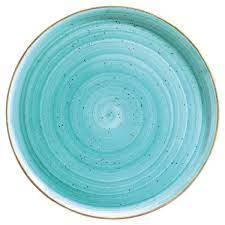 Bonna' Gourmet Pizza plate Aqua (12pcs)