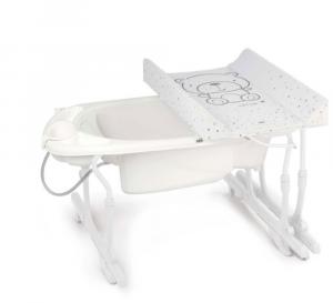 Bagnetto con fasciatoio estraibile linea Idro Baby by Cam