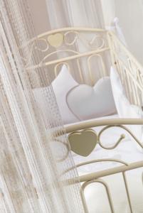 Cameretta Completa- letto in ferro battuto - Nanny by Picci