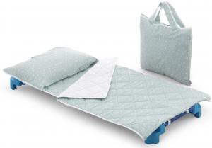 Set tessile per asilo linea Sottosopra Stelline by Italbaby | Borsa Omaggio