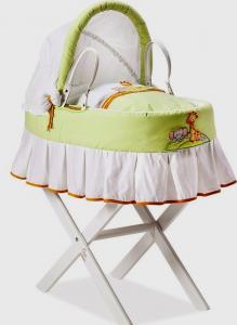 Cesta neonato linea Gina  by Italbaby | Con Supporto in Legno