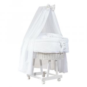 Culla con velo Miss Luxury by Picci | Completa di carillon