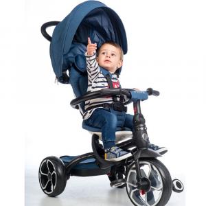 Triciclo Mutifunzione Prime by Q Play | Blu