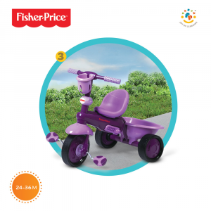 Triciclo Royal 3 in 1 by Fhisher Price | Viala