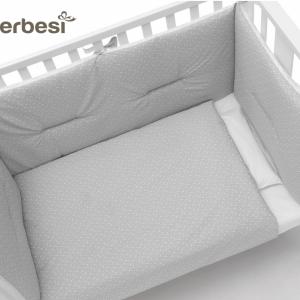 Rivestimento tessile linea Mini Stelline by Erbesi | Con Materasso