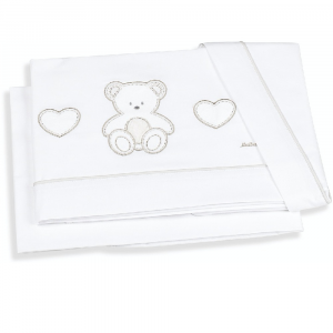 Set lenzuola lettino ovale linea sogni d'Oro by Italbaby