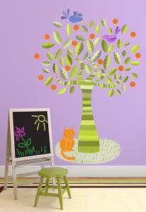 Adesivo murale L'albero verde by Wall skin