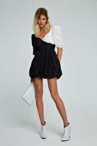 Abito Dress Raya bianco e nero Aniye By