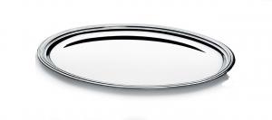 Vassoio ovale, placcato argento, stile Inglese