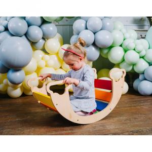 Dondolo dell'equilibrio a modo tuo colorato - da 6 mesi
