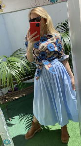 Camicia Nodo  Vicolo fantasia etnica