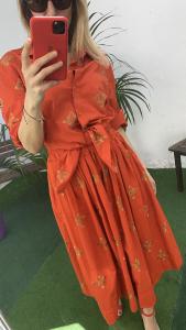 Camicia con nodi  fantasia mosaico Vicolo Taglia M