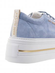 Marc Ellis  Sneakers Camoscio Cielo