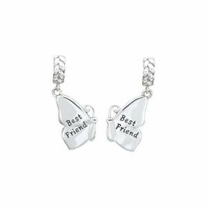 Chamilia Doppio Charm in argento 925 Farfalle Best Friends  2025-1428