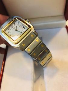 Orologio secondo polso Cartier