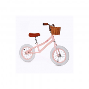 Bicicletta senza pedali Balance Bike Baghera Rosa