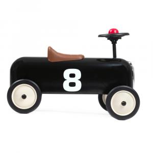 Auto Cavalcabile Vintage Baghera Racer New Black