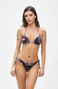 Bikini triangolo e slip nodi brasiliano regolabile Frou Frou Summer of Love Effek
