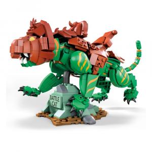 *PREORDER* Masters of the Universe - Mega Construx: CONSTRUCTION SET ORIGINS BATTLE CAT by Mattel