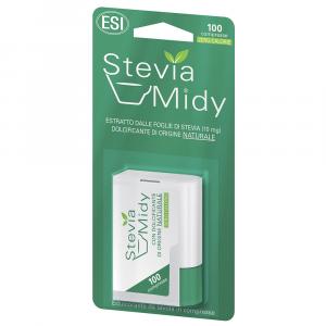 STEVIA MIDY COMPRESSE ESI - DOLCIFICANTE DI ORIGINE NATURALE