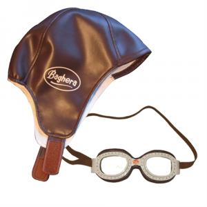 Set da piccolo pilota - Cappello e occhiali stile aviatore